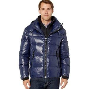 NWT S13 Hooded Quilted Puffer Jacket XL